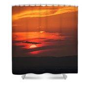 Pa Sunset Shower Curtain