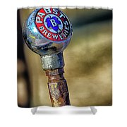 Pabst Breweries Shower Curtain