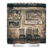 Pabst Good Old Time Flavor Shower Curtain