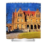 Pabst Mansion Shower Curtain
