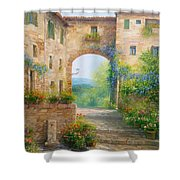 Pace In Toscana - Italy Shower Curtain