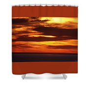 Pacific Backdrop  Shower Curtain