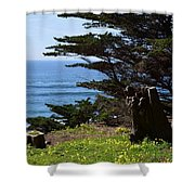 Pacific Beauty Shower Curtain