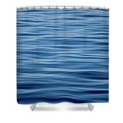 Pacific Brush Strokes Shower Curtain