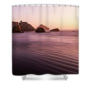 Pacific Cathedral Shower Curtain