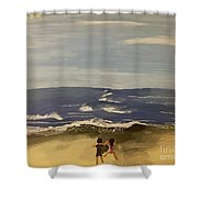 Pacific Coast Experience  Shower Curtain