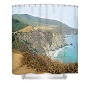 Pacific Coast Highway Dreams Shower Curtain