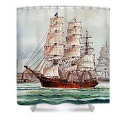 Pacific Fleet Shower Curtain