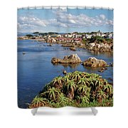 Pacific Grove, Ca Shower Curtain