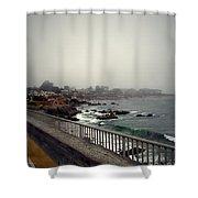 Pacific Grove California Usa Shower Curtain