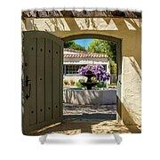 Pacific House Garden Shower Curtain