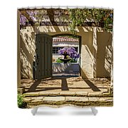 Pacific House Gardens Shower Curtain