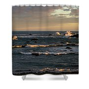 Pacific Ocean After The Storm Shower Curtain