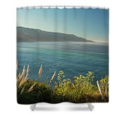 Pacific Ocean, Big Sur Shower Curtain