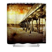 Pacific Pier Shower Curtain