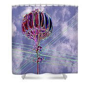 Pacific Science Center Lamp 2 Shower Curtain