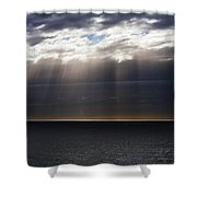 Pacific Storm Shower Curtain