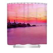 Pacific Sunset Shower Curtain