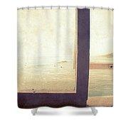 Pacific Window Shower Curtain