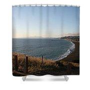 Pacifica Shoreline Shower Curtain