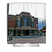 Pack Place Asheville Shower Curtain