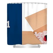 packaging Supplies Shower Curtain