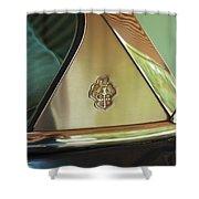 Packard Emblem 2 Shower Curtain
