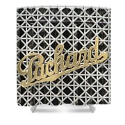 Packard Grill Shower Curtain