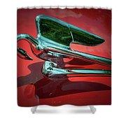 Packard Caribbean Hood Ornament Shower Curtain