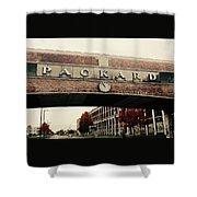 Packard Plant Shower Curtain