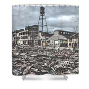 Packard Plant Shower Curtain