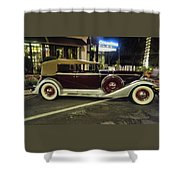 Packard Twelve Sedan Convertible Shower Curtain