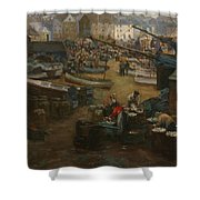 Packing Fish   St Ives Shower Curtain
