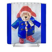 Paddington Bear Shower Curtain