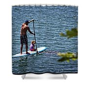 Paddle Board Shower Curtain