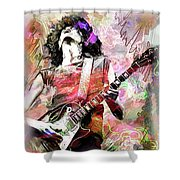Page Shower Curtain