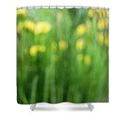 Pagoda Garden Shower Curtain