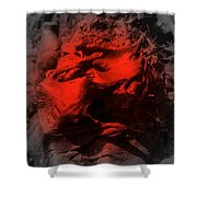 Pahoehoe Lava Shower Curtain
