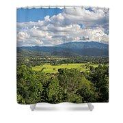 Pai Landscape View, Thailand Shower Curtain