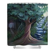 Pain To Gain Victory Shower Curtain