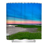 Paines Creek Sunset Cape Cod Shower Curtain