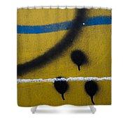 Paint #589 Shower Curtain