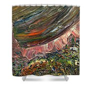 Paint Number 10 Shower Curtain by James W Johnson