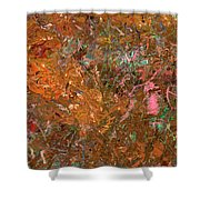 Paint Number 19 Shower Curtain by James W Johnson