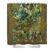 Paint Number 24 Shower Curtain by James W Johnson