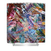 Paint Number 42-b Shower Curtain by James W Johnson