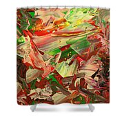 Paint Number 48 Shower Curtain