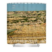Painted Canyon Shower Curtain