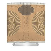 Painted Chest Shower Curtain