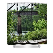 Painted Congaree Four Shower Curtain